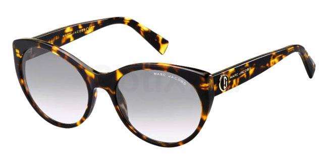 086 (9O) MARC 376/S Sunglasses, Marc Jacobs