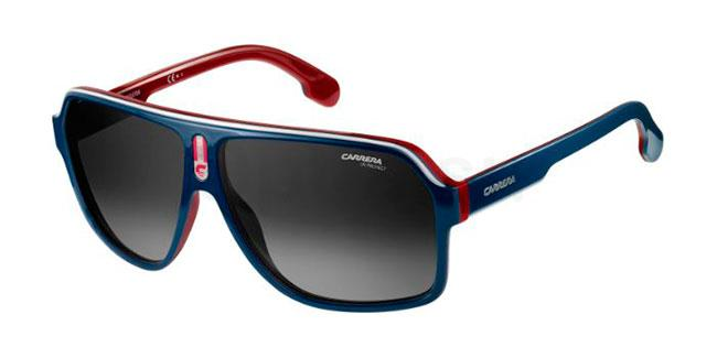 8RU  (9O) CARRERA 1001/S Sunglasses, Carrera