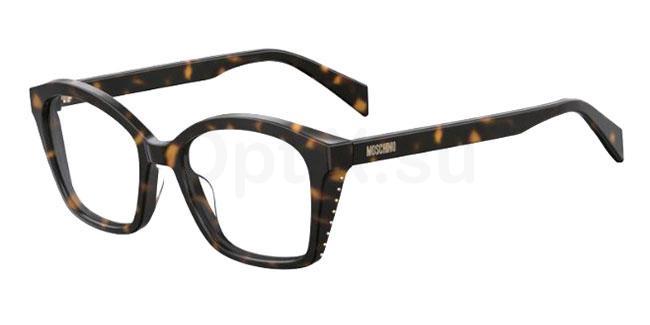 086 MOS517 Glasses, Moschino