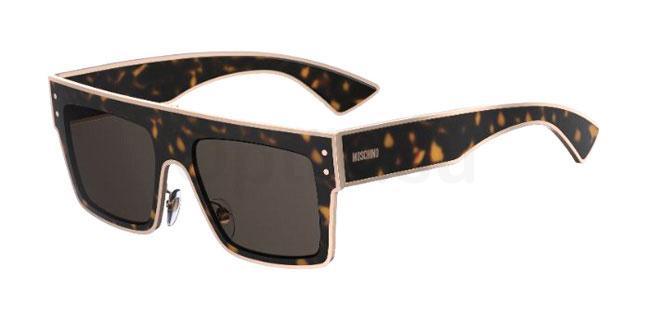 086 (IR) MOS001/S Sunglasses, Moschino