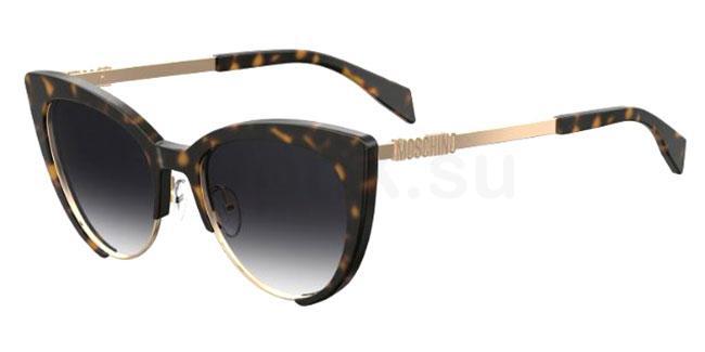 086 (9O) MOS040/S Sunglasses, Moschino