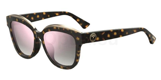 086 (VQ) MOS042/F/S Sunglasses, Moschino