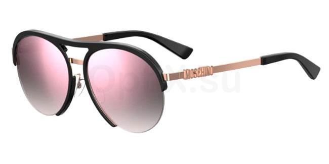 3H2 (VQ) MOS044/F/S Sunglasses, Moschino