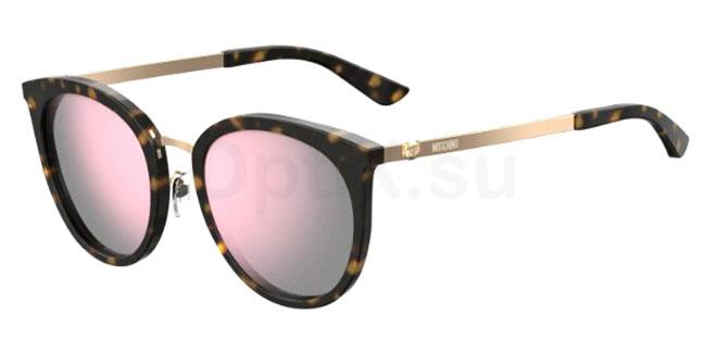 086 (VQ) MOS045/F/S Sunglasses, Moschino