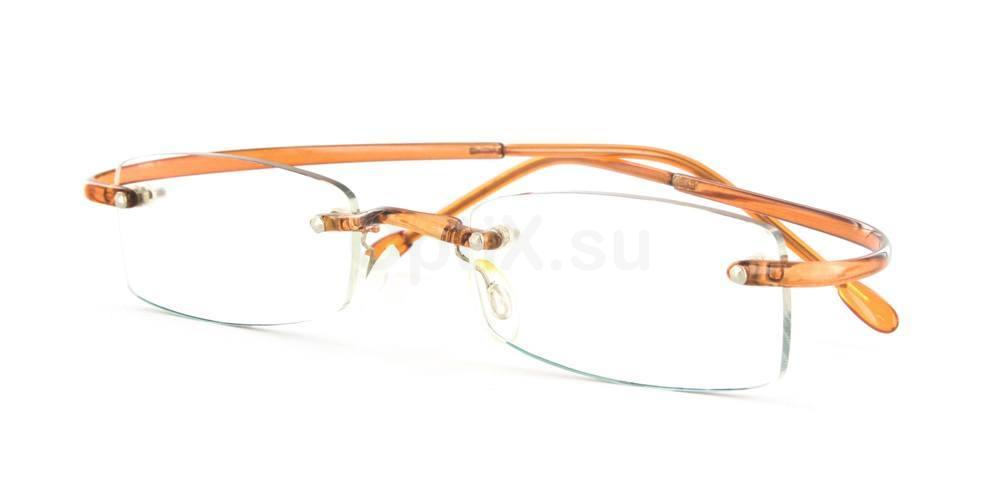 Brown R01 Glasses, Infinity