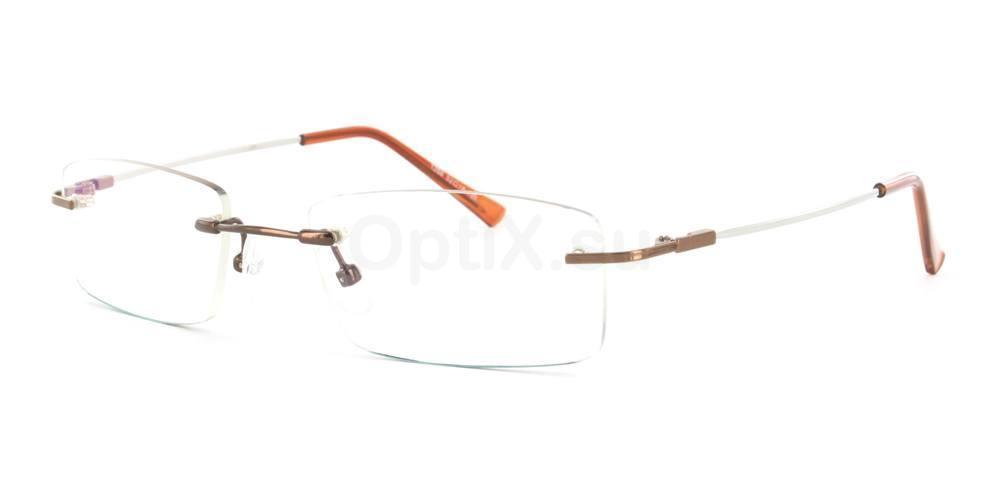 Brown 1266 Glasses, Infinity
