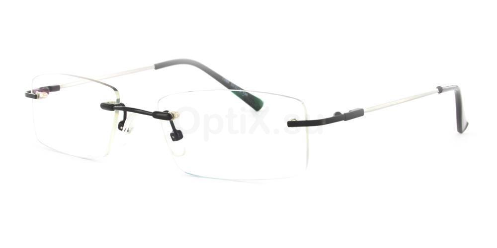 Black 1266 Glasses, SelectSpecs