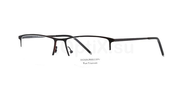 Matt Black AP1012 Glasses, Anton Phillips