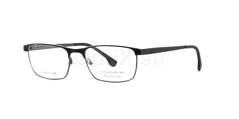 Matt Black AP1017 Glasses, Anton Phillips