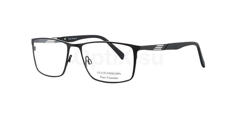 Matt Black AP1026 Glasses, Anton Phillips
