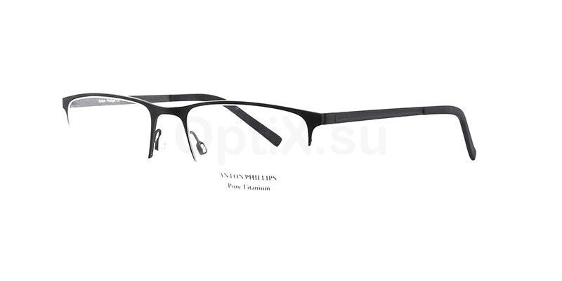 Matt Black AP1027 Glasses, Anton Phillips