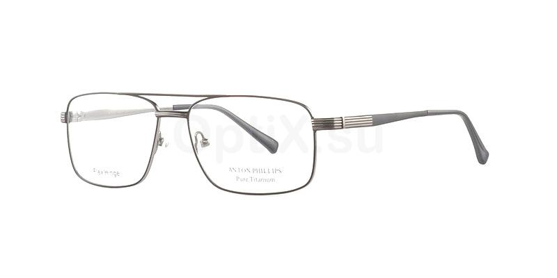 Black/ Gun AP1031 Glasses, Anton Phillips