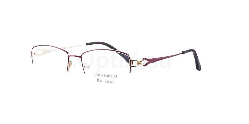 Satin Fuchsia AP2022 Glasses, Anton Phillips