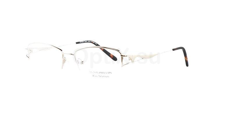 Satin Gold AP2024 Glasses, Anton Phillips