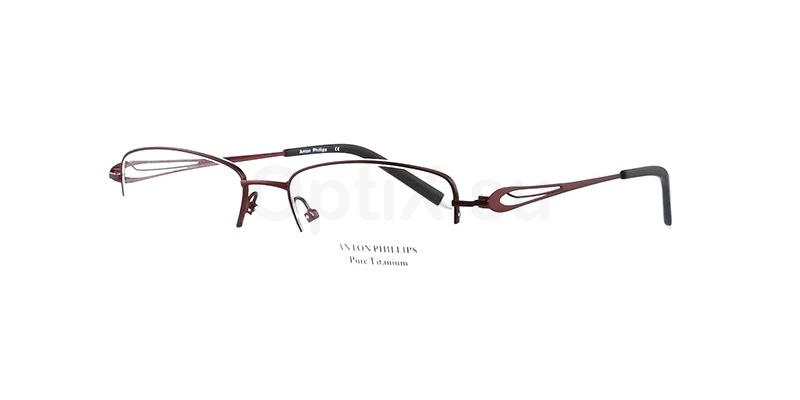 Burgundy AP2028 Glasses, Anton Phillips