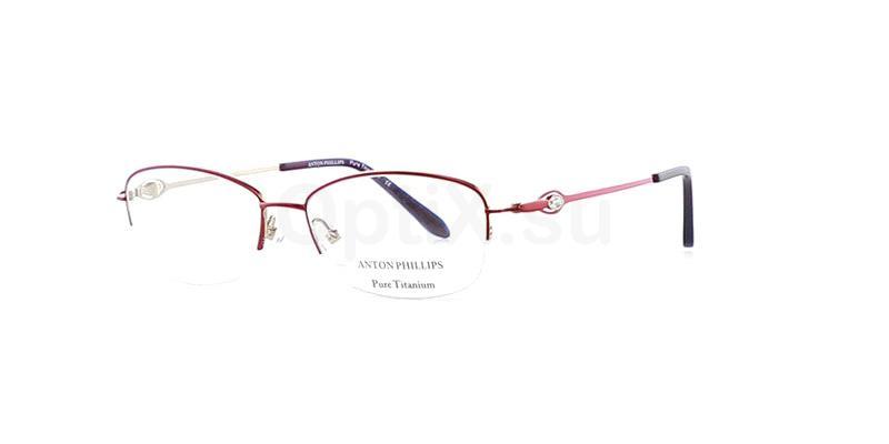 Burgundy AP2034 Glasses, Anton Phillips