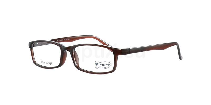 Brown ALFIE Glasses, Pennine Originals
