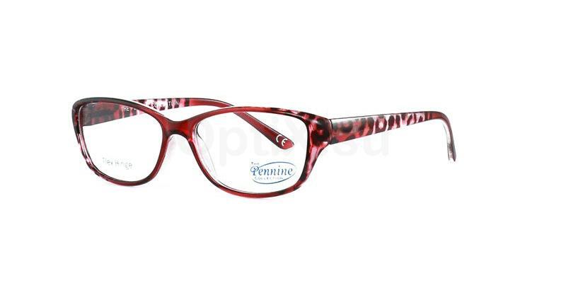 Burgundy DOROTHY Glasses, Pennine Originals