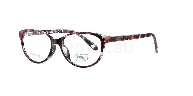 Burgundy MARIA Glasses, Pennine Originals