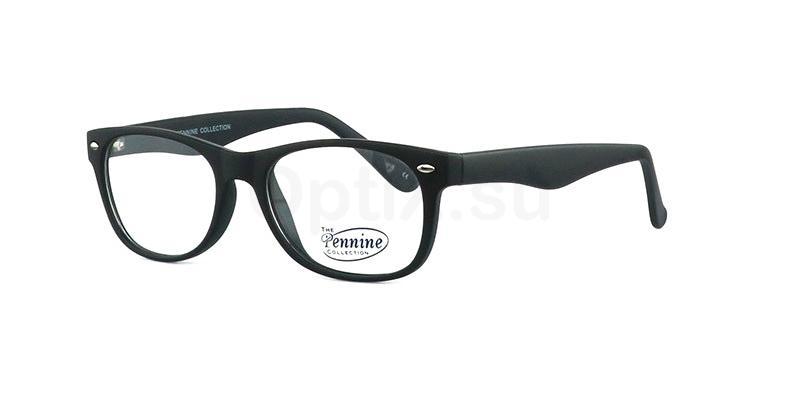 Matt Black MITCH Glasses, Pennine Originals