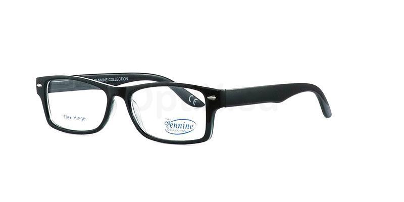 Black NICHOLAS Glasses, Pennine Originals