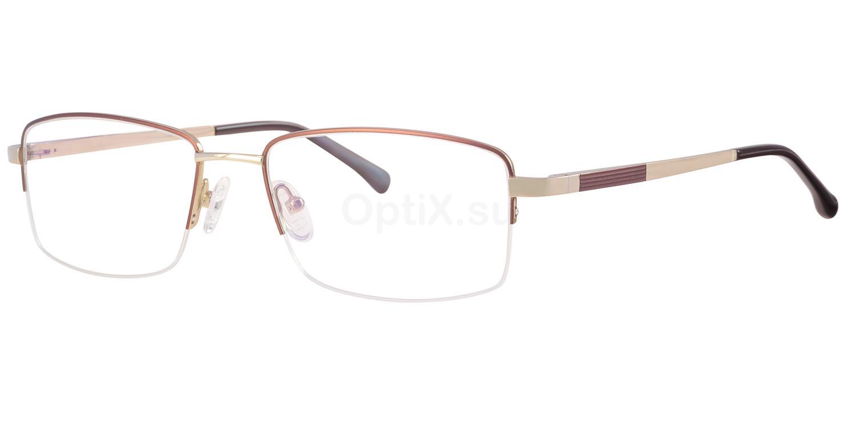 C30 716 Glasses, Ferucci Titanium