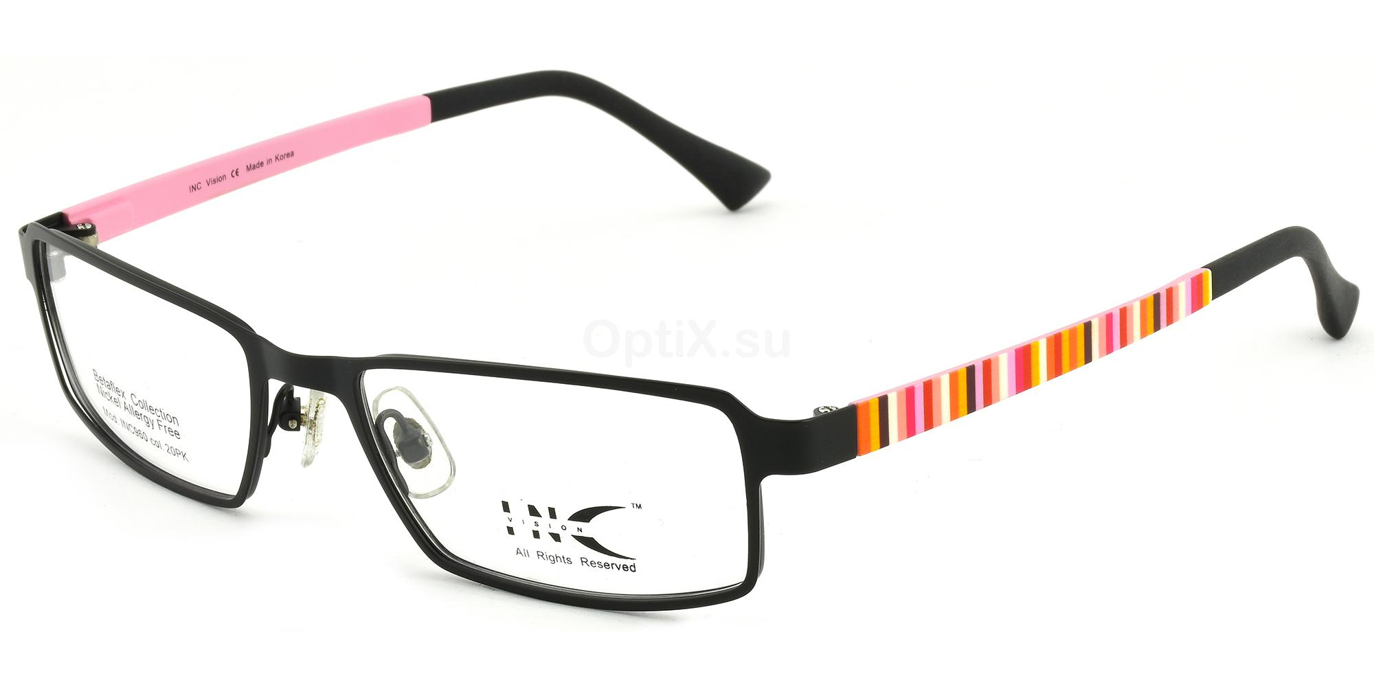 20PK INC 960 Glasses, INC Vision
