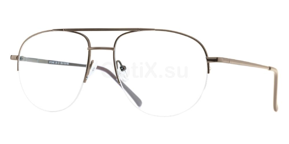 C1 Stone 20 Glasses, Stone & Spartan