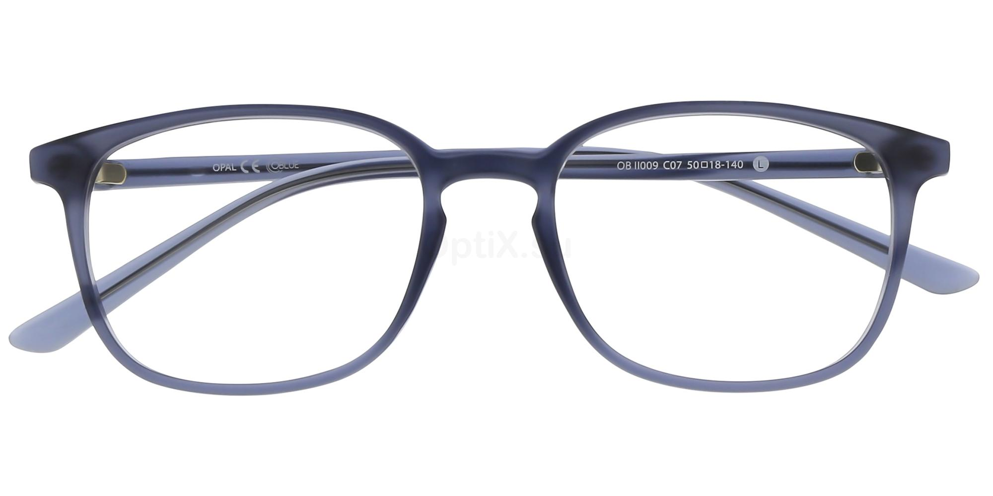 C07 OBII009L Glasses, Oblue
