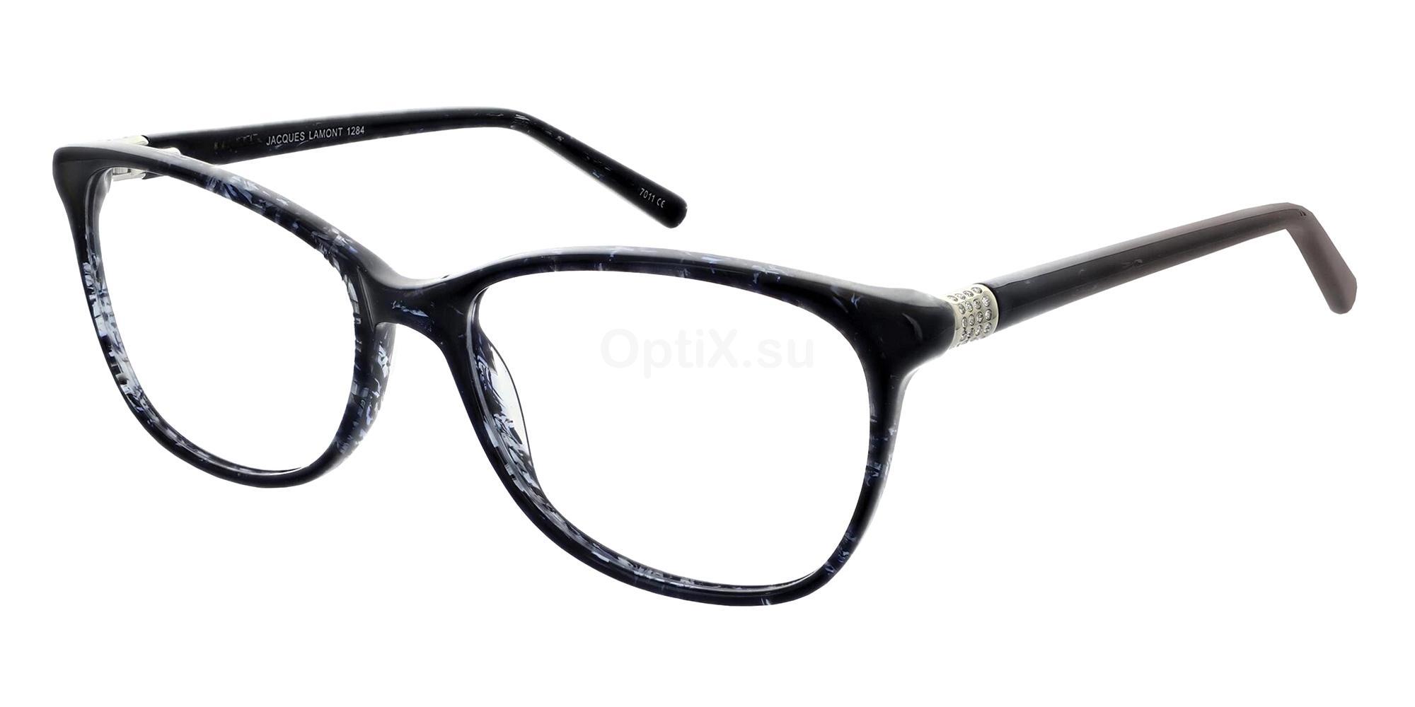 Black 1284 Glasses, Jacques Lamont