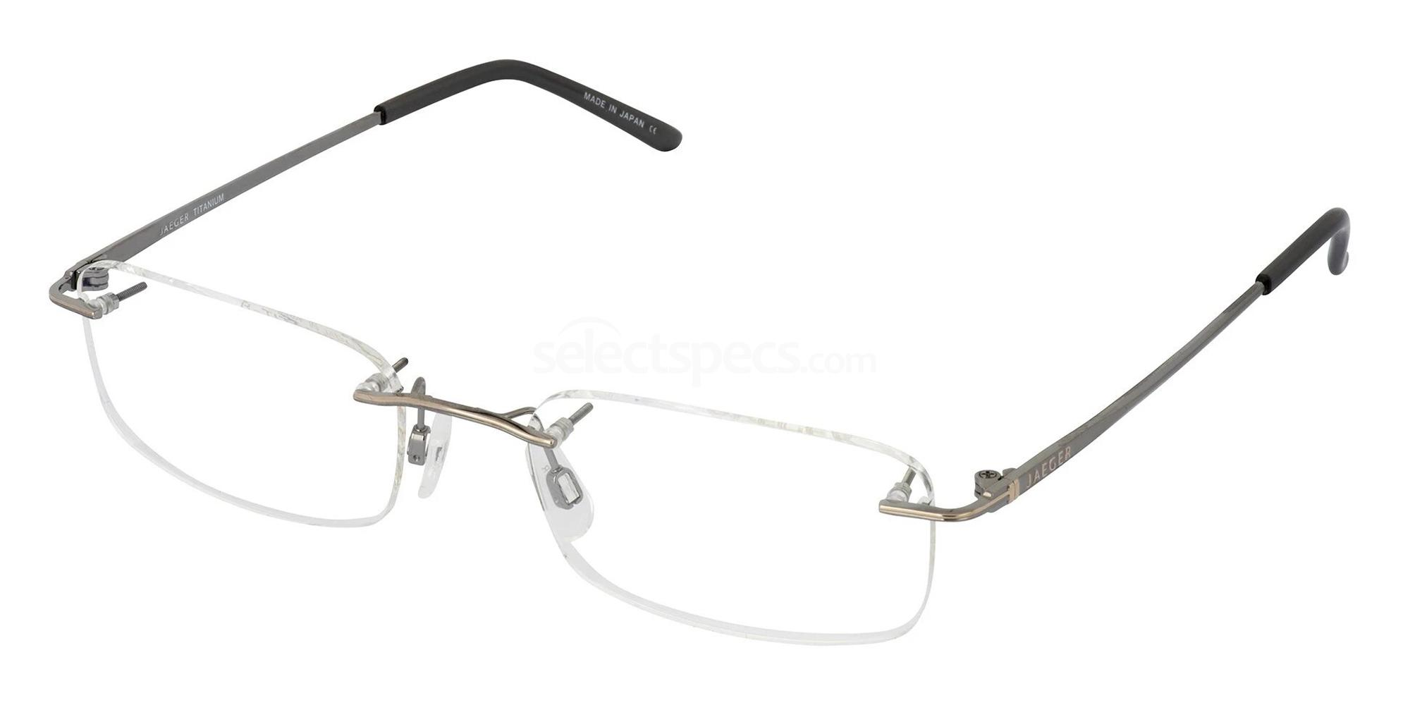 C.62 232 Glasses, Jaeger Pure Titanium