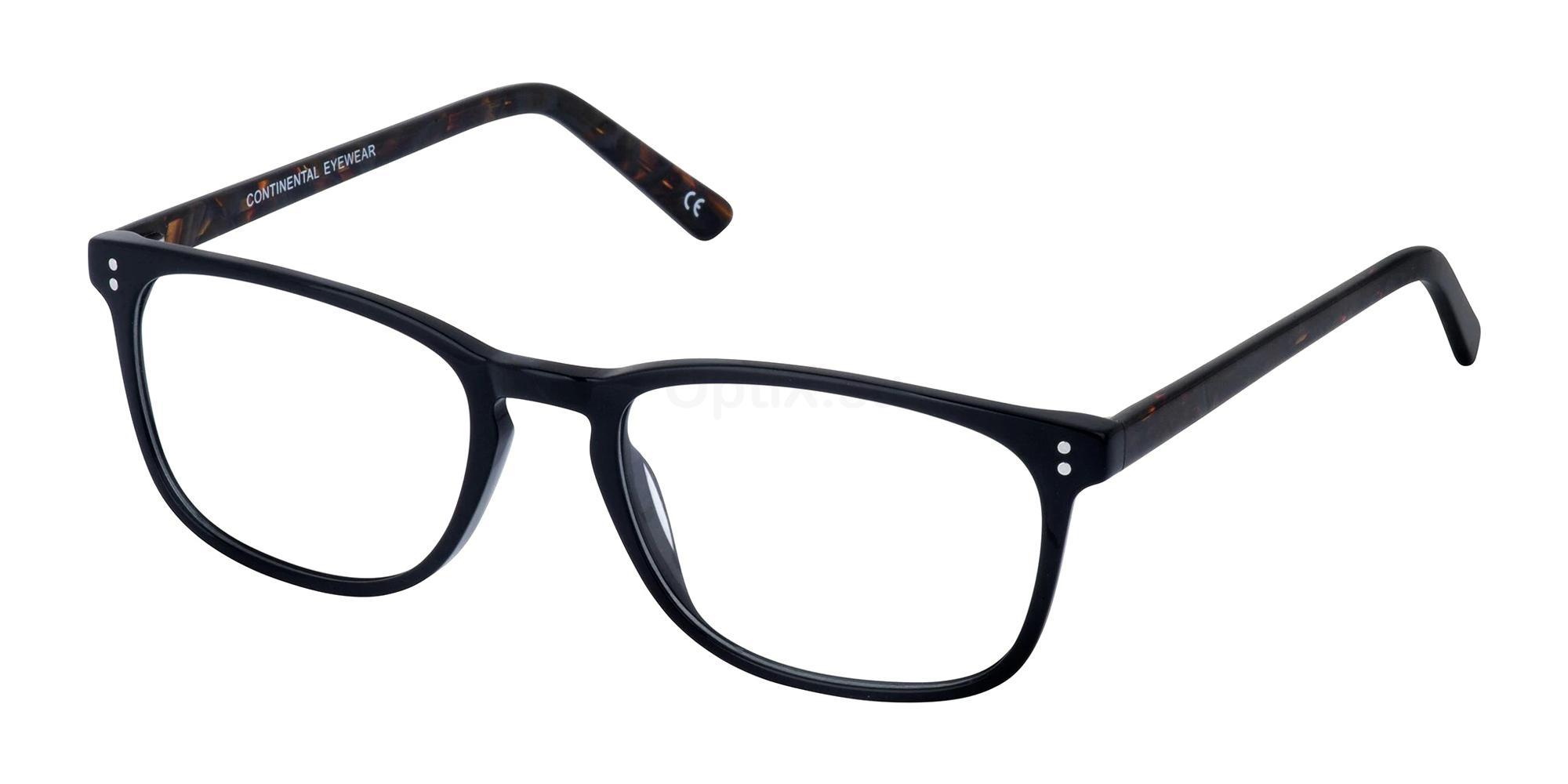 Black/Amber KAY Glasses, Cameo