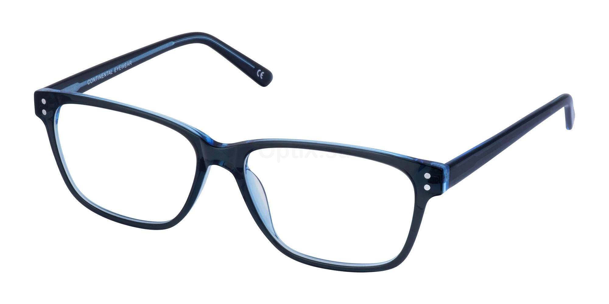 Black/Blue KELLY Glasses, Cameo