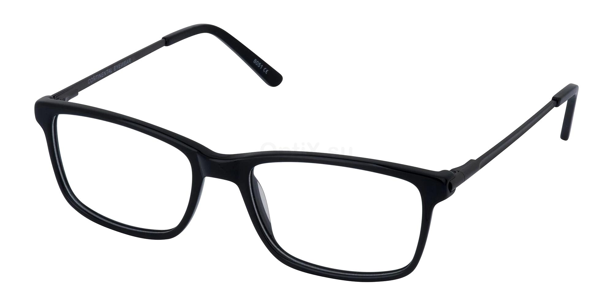 Black KEN Glasses, Cameo