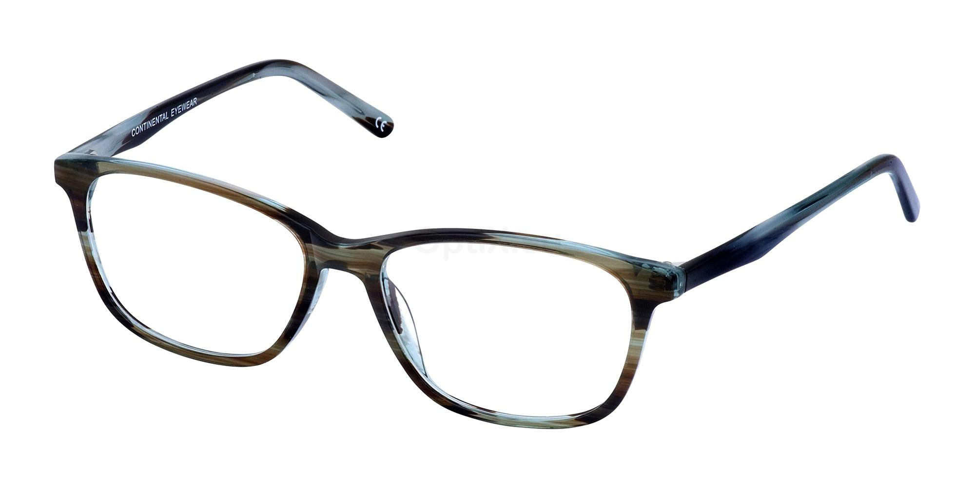 Brown/Blue KIRSTY Glasses, Cameo