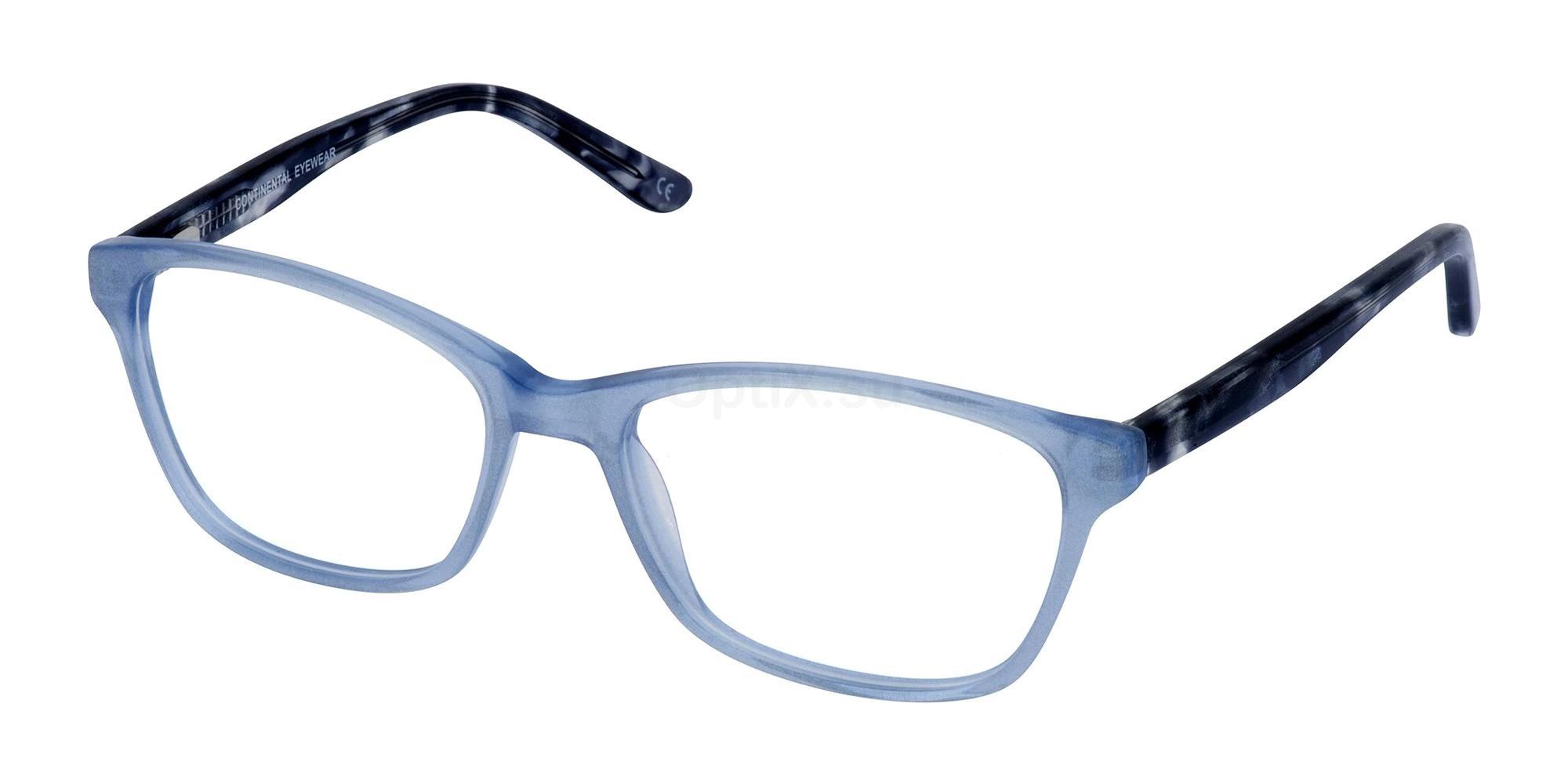 Blue LEILA Glasses, Cameo