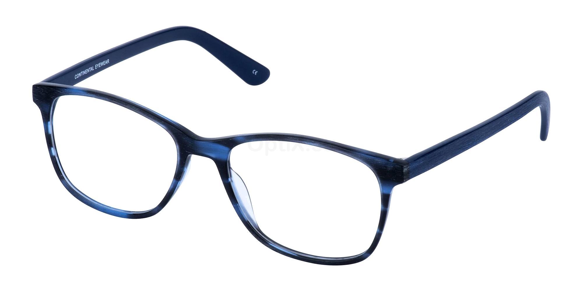 Blue LOUISA Glasses, Cameo