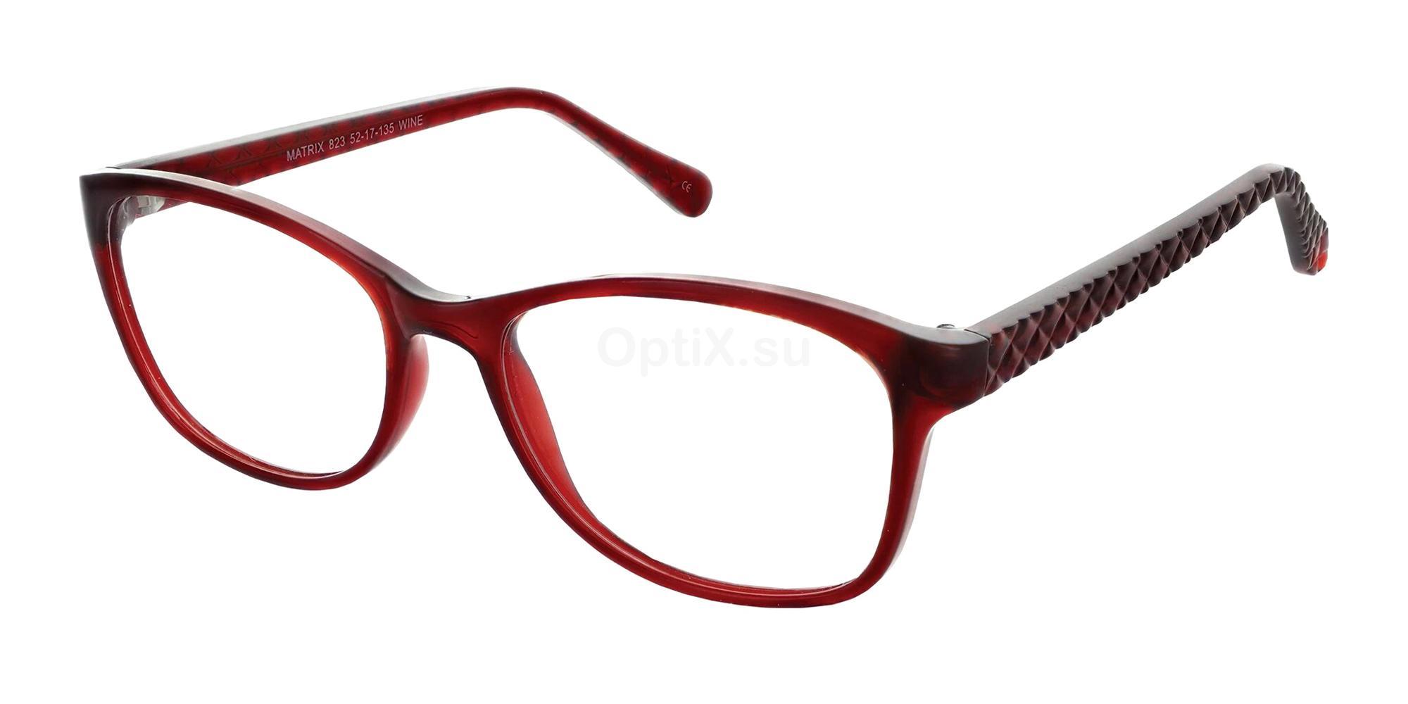Wine 823 Glasses, Matrix