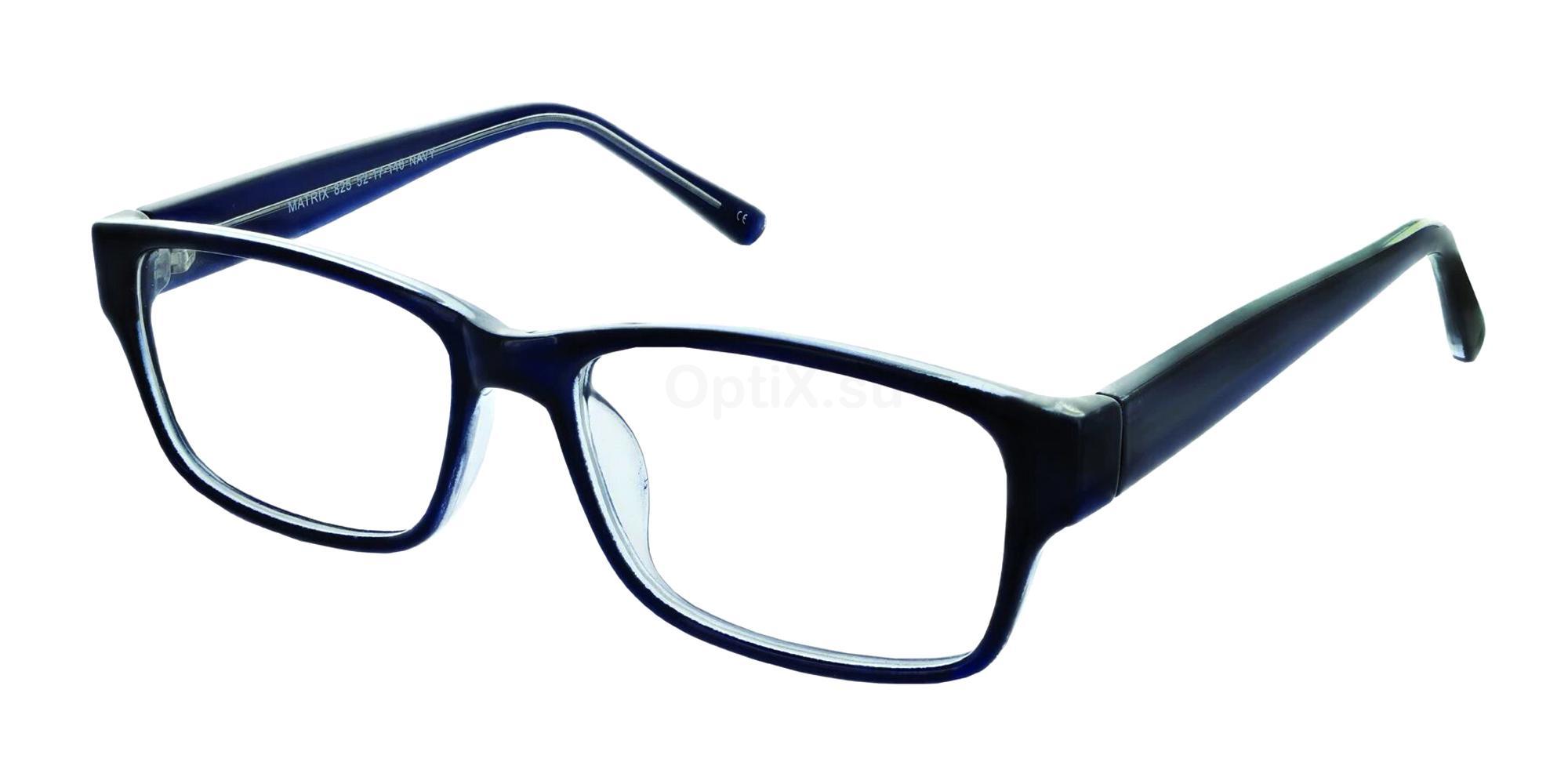 Navy 825 Glasses, Matrix