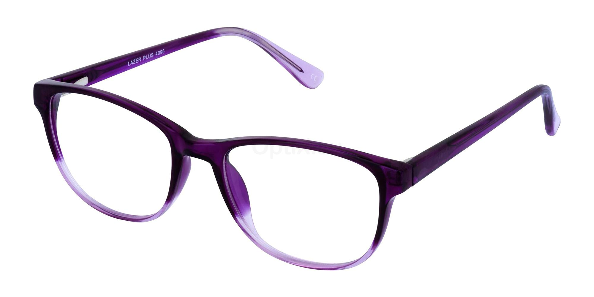 Purple 4096 Glasses, LAZER