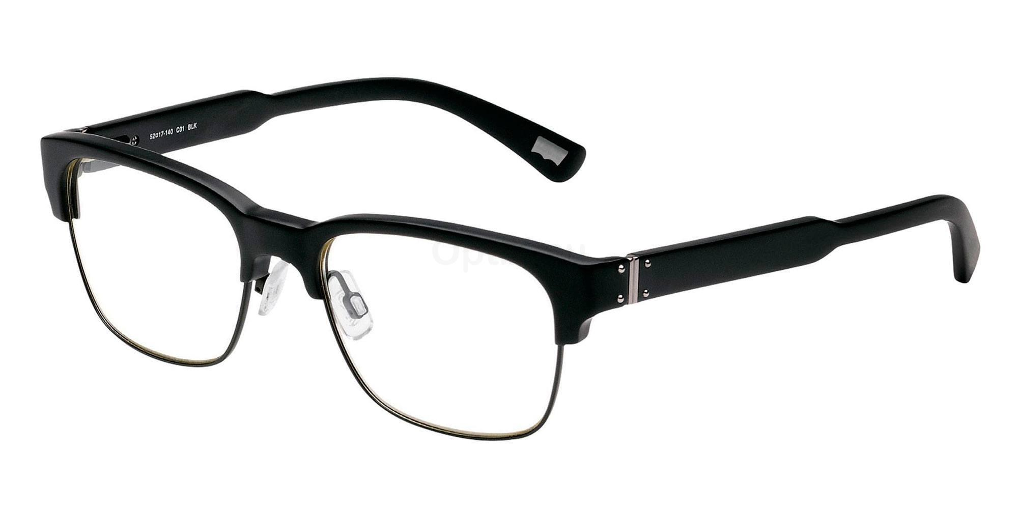 01 BLK LS115 , Levi's Eyewear
