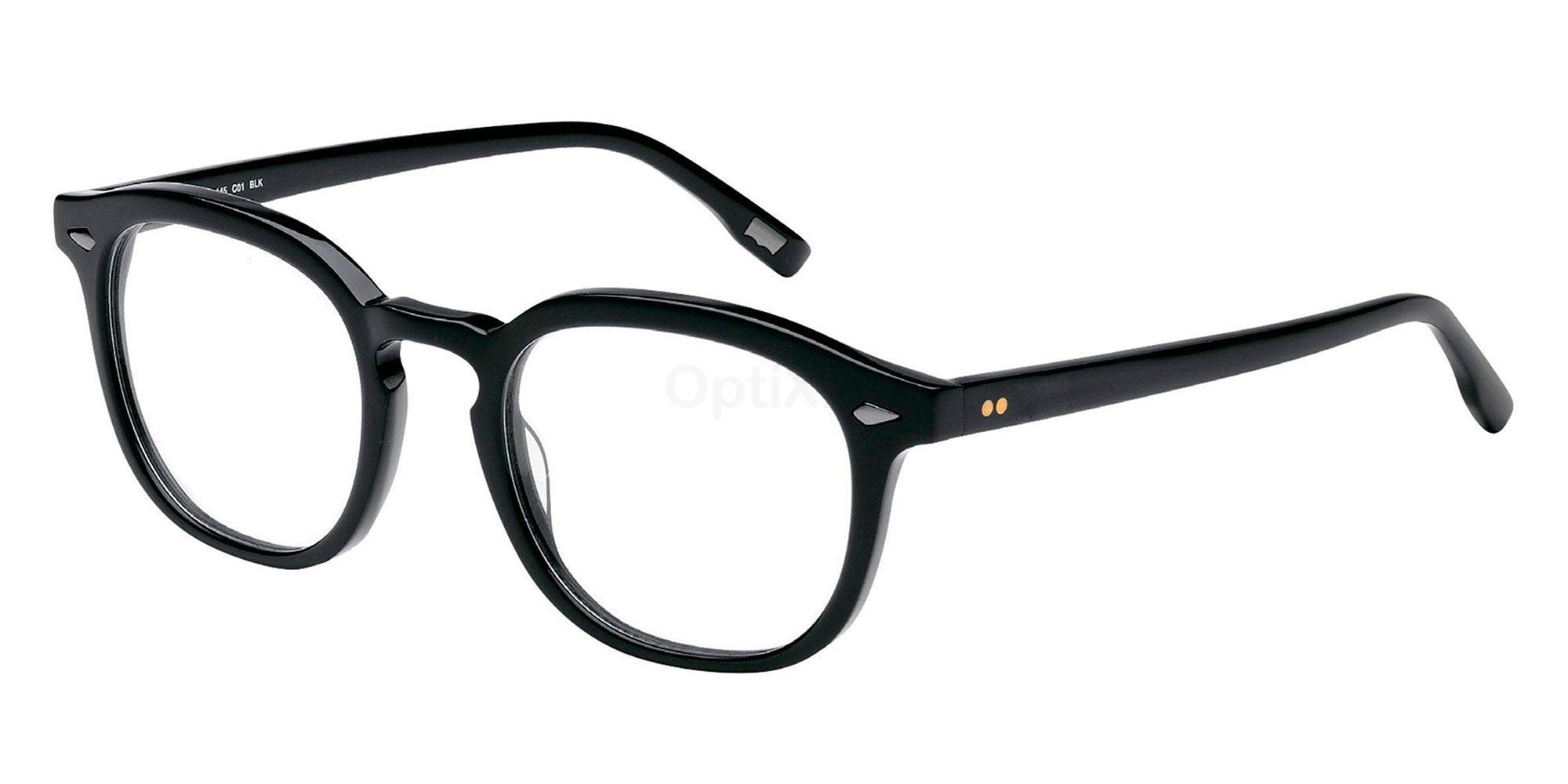 01 BLK LS118 , Levi's Eyewear
