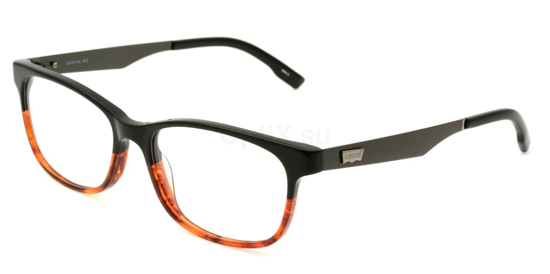 01 BLK LS127 , Levi's Eyewear