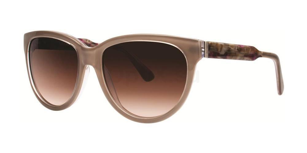 Taupe V288 Sunglasses, Vera Wang
