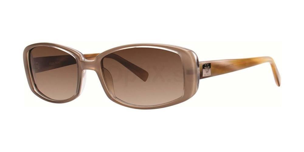 Taupe V405 Sunglasses, Vera Wang