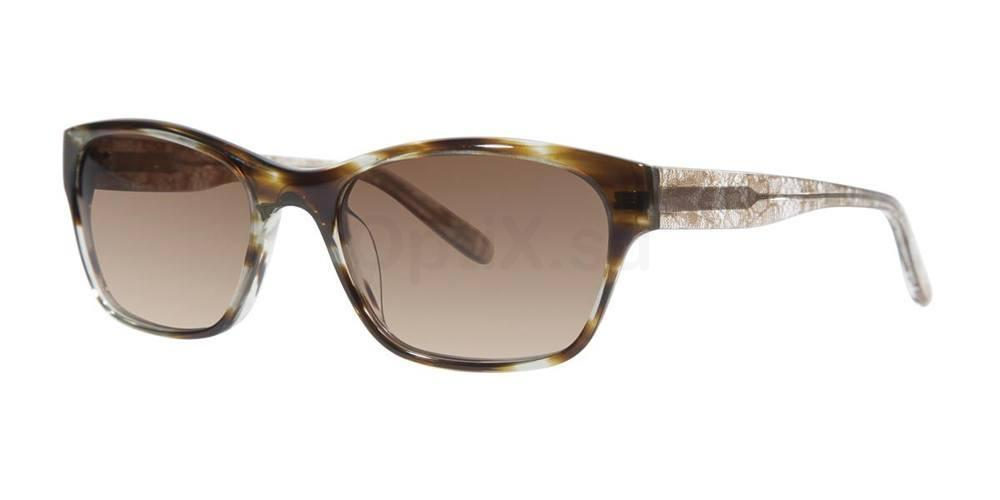 Spring Tortoise V406 Sunglasses, Vera Wang