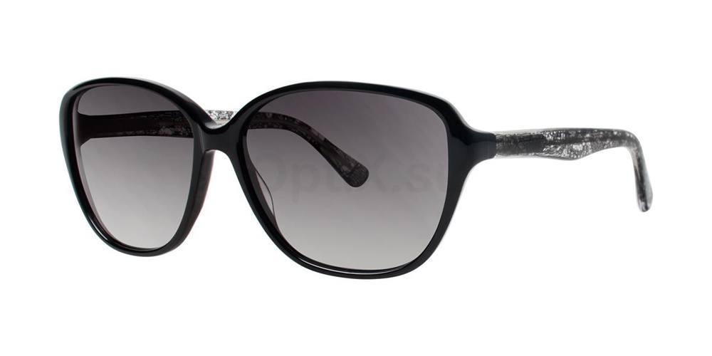 Black V411 Sunglasses, Vera Wang