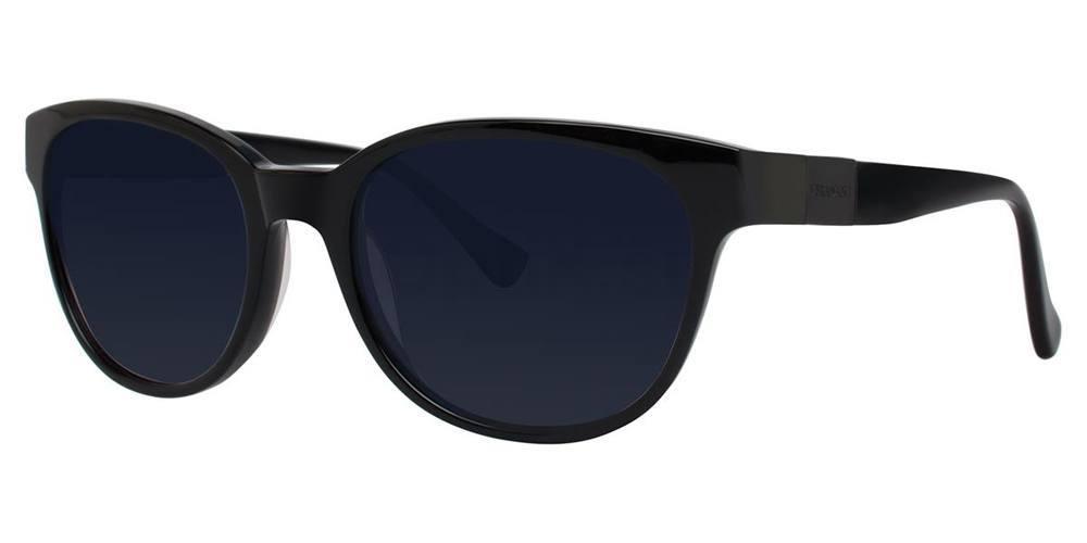 Black V444 Sunglasses, Vera Wang