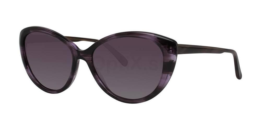 Amethyst Crystal V450 Sunglasses, Vera Wang