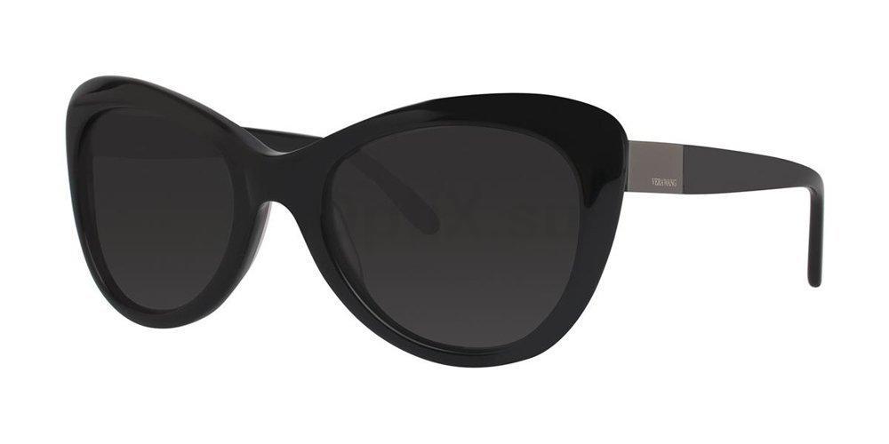 Black V441 Sunglasses, Vera Wang